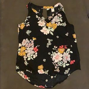 🦉5for$15 Old Navy Floral Tank